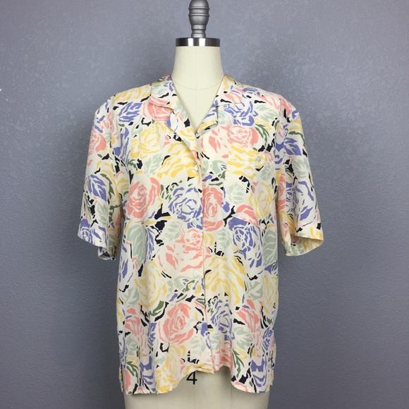 41aafa1fec3015 Liz Claiborne Tops | Vintage Collection Silk Blouse | Poshmark
